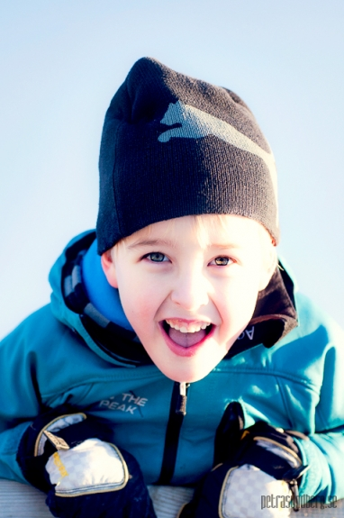 Barnfotografering  - Isak och Cornelia