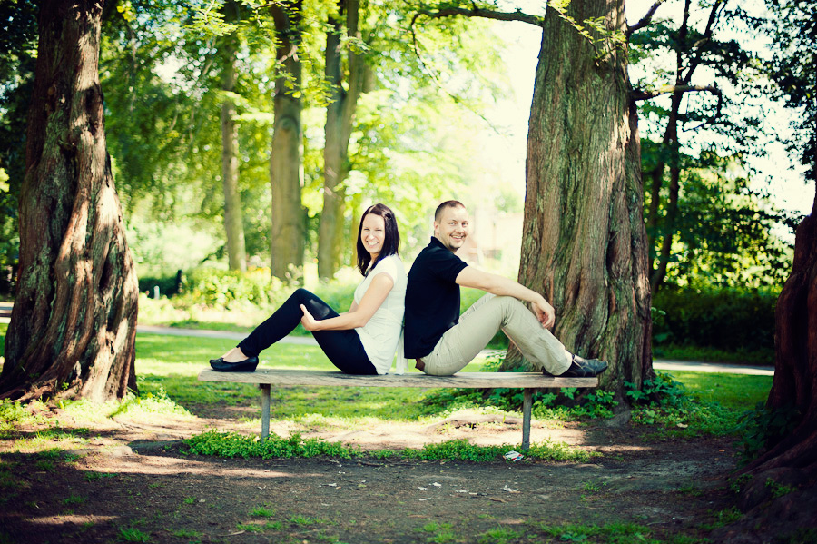 Sara & Joel i Botaniska - Lund