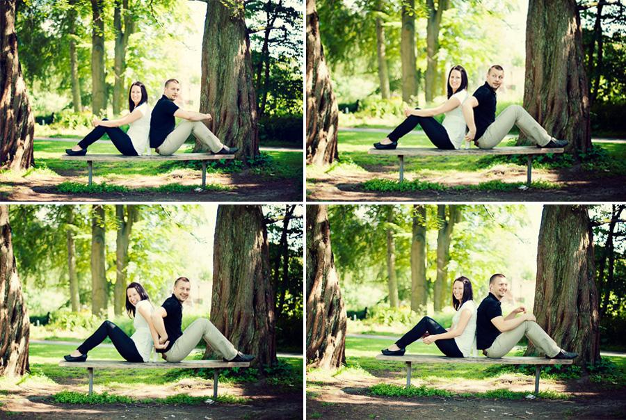 Joel och Sara, Botaniska i Lund