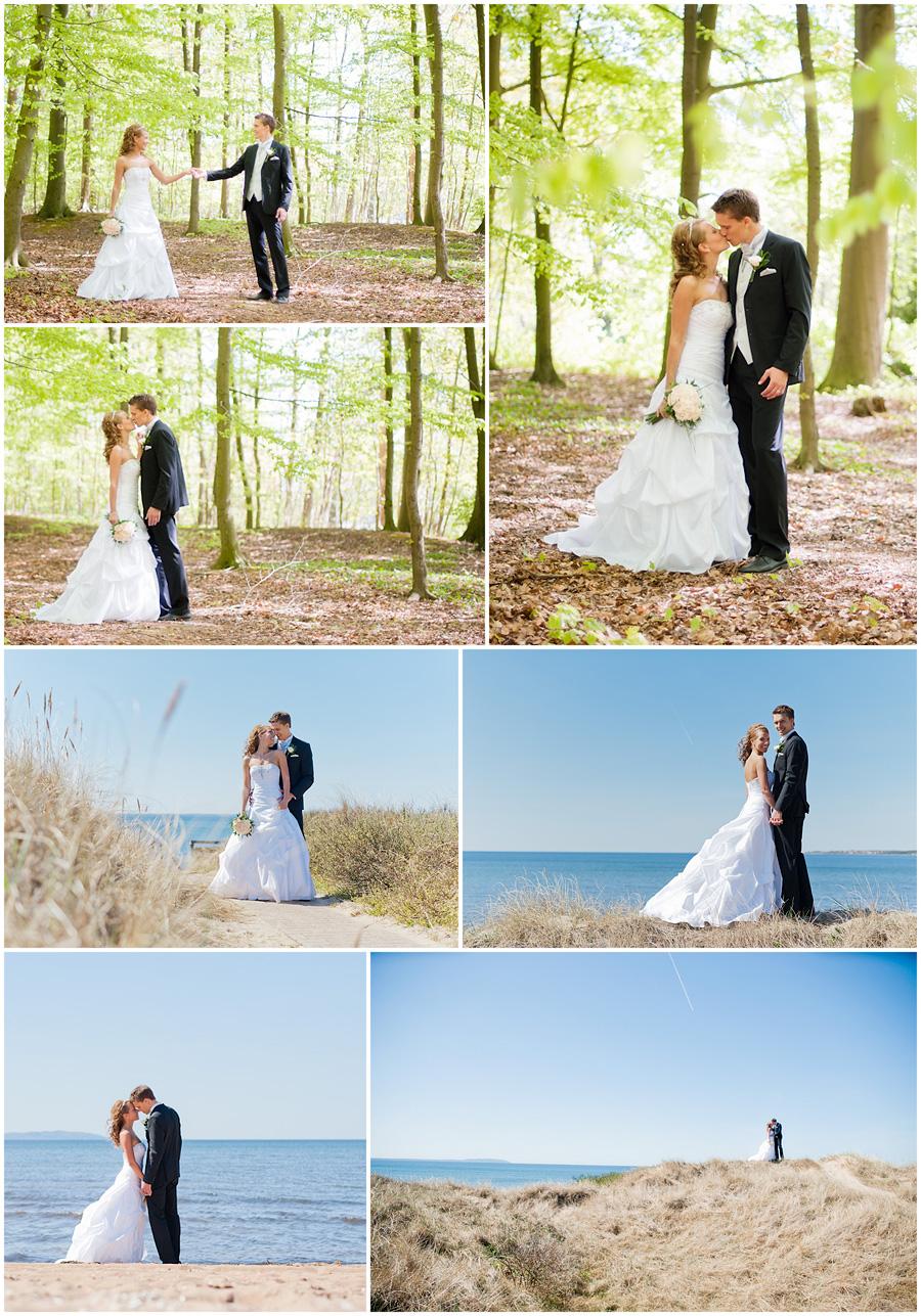 Åsa och Jacob - bröllopsfotografering Ängelholm