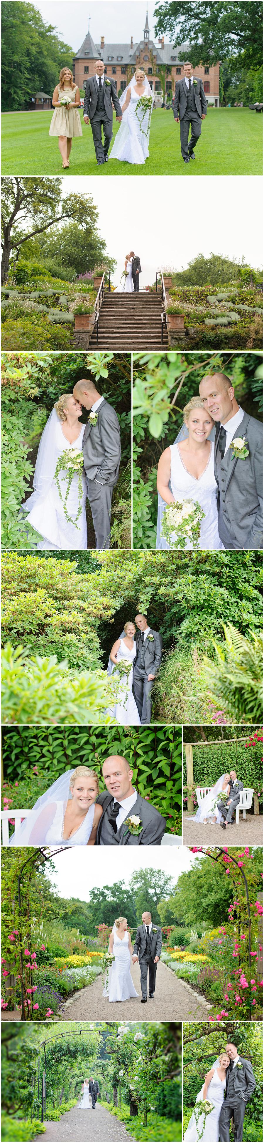Bröllopsfotografering, Sofiero, Helsingborg