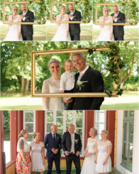 Bröllopsfotografering Hemvärnsgården Kyrkheddinge